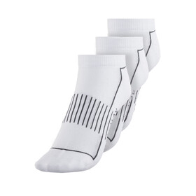Endura Coolmax Stripe Socks Women 3-Pack White
